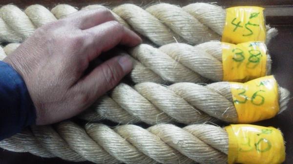 ロープの太さ